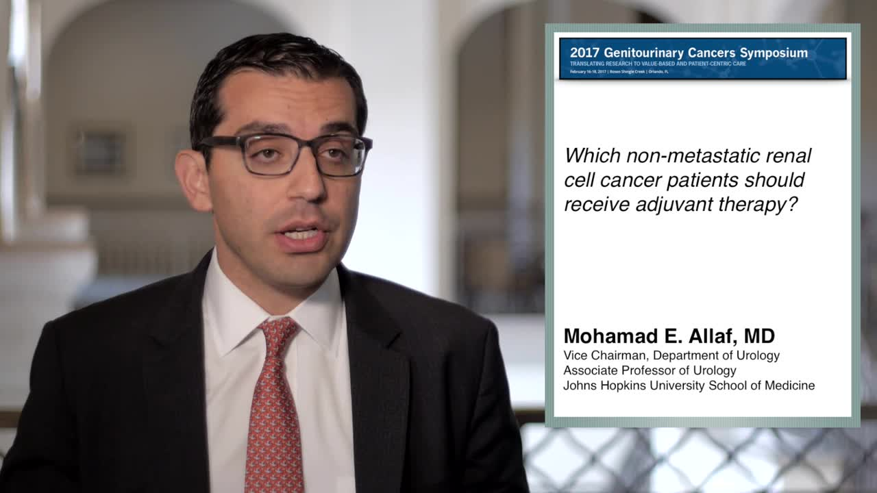 Renal Cell Cancer: Which Patients Should Receive Adjuvant Therapy--None