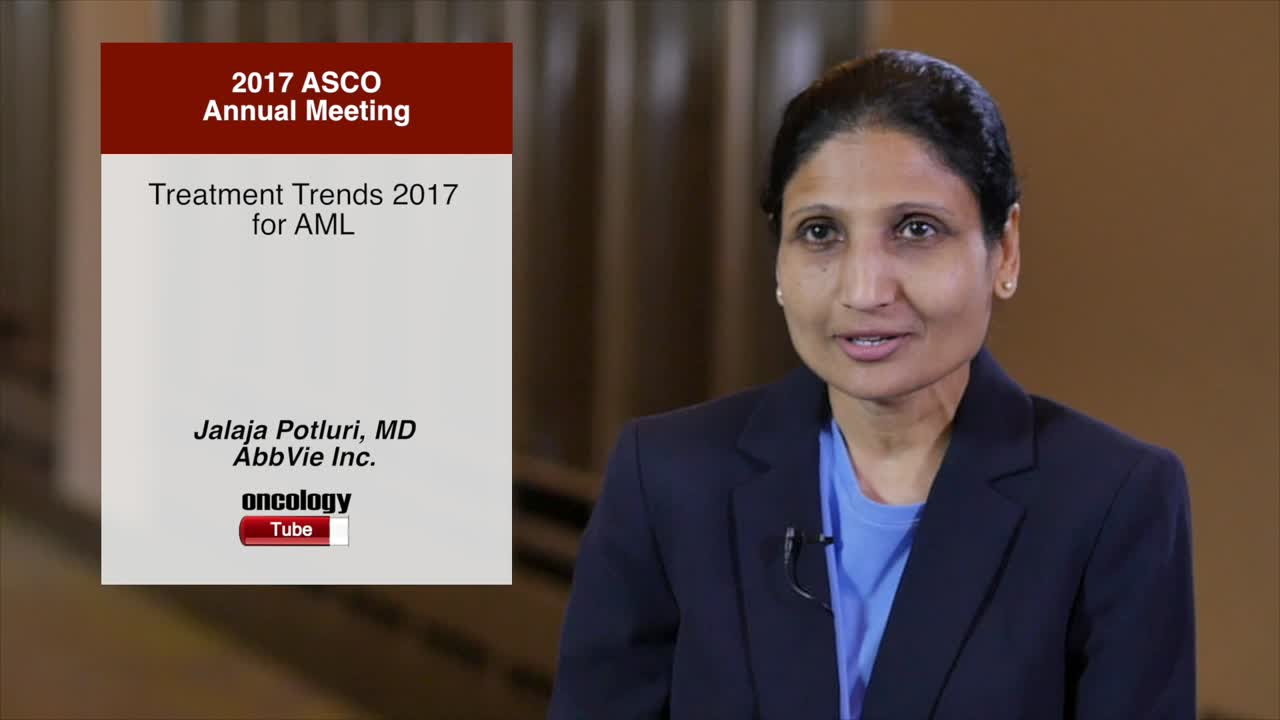 Treatment Trends 2017 for AML