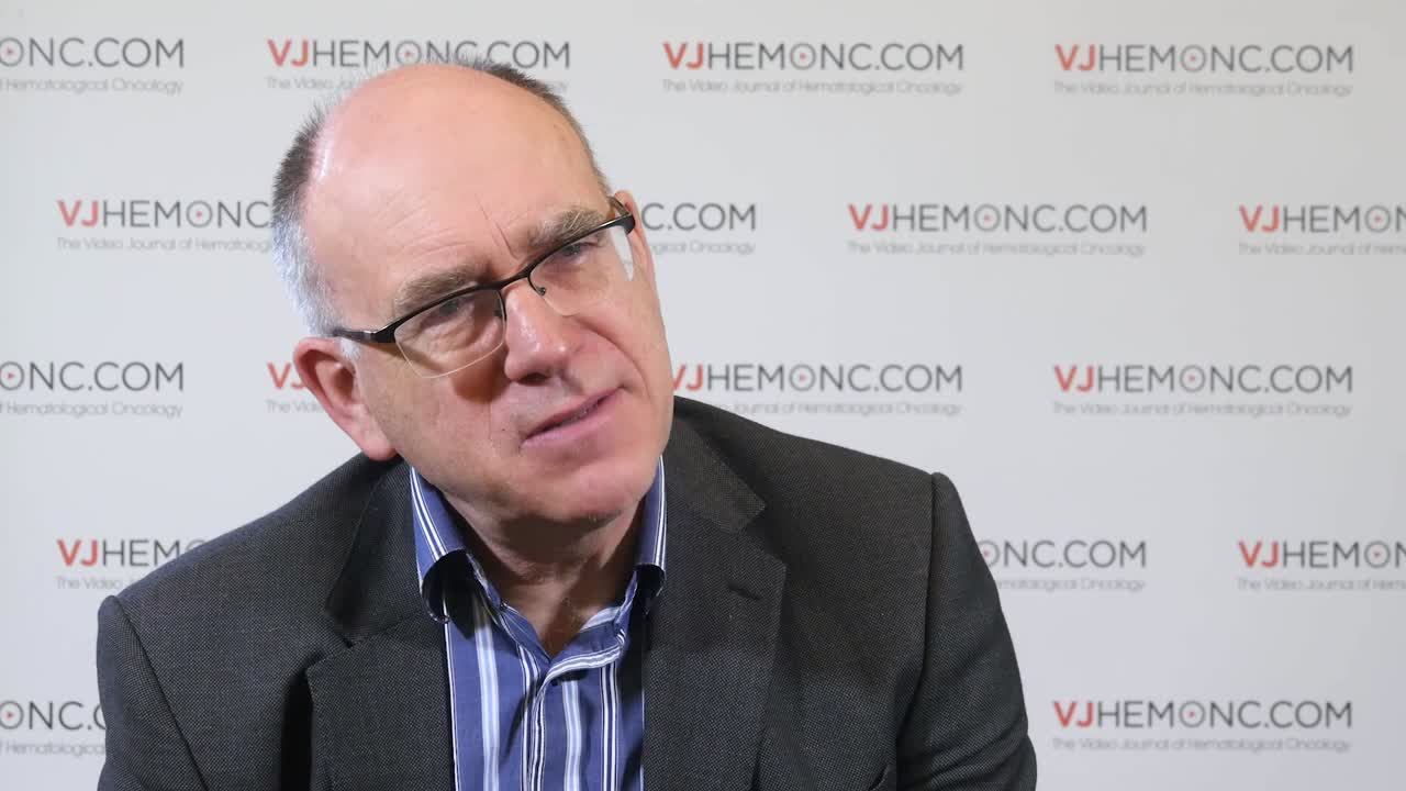 MRD to determine risk of relapse after induction in AML