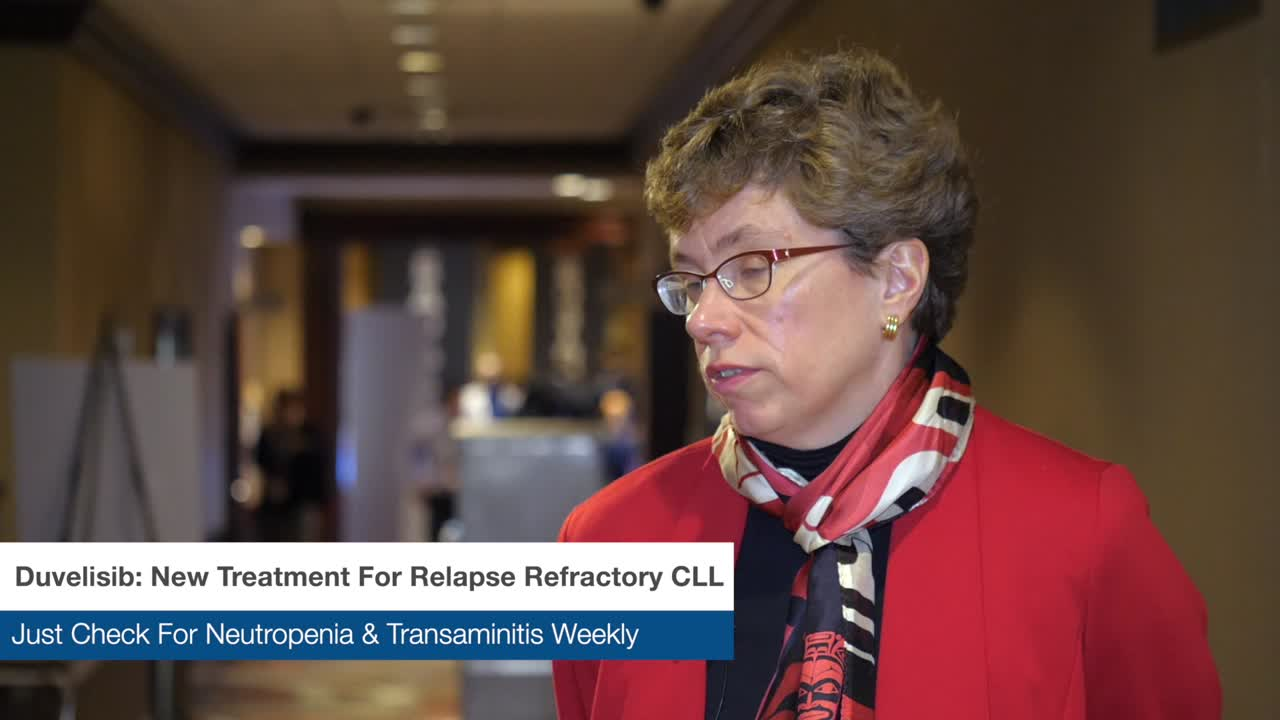 Duvelisib: New Treatment for Relapse Refractory CLL