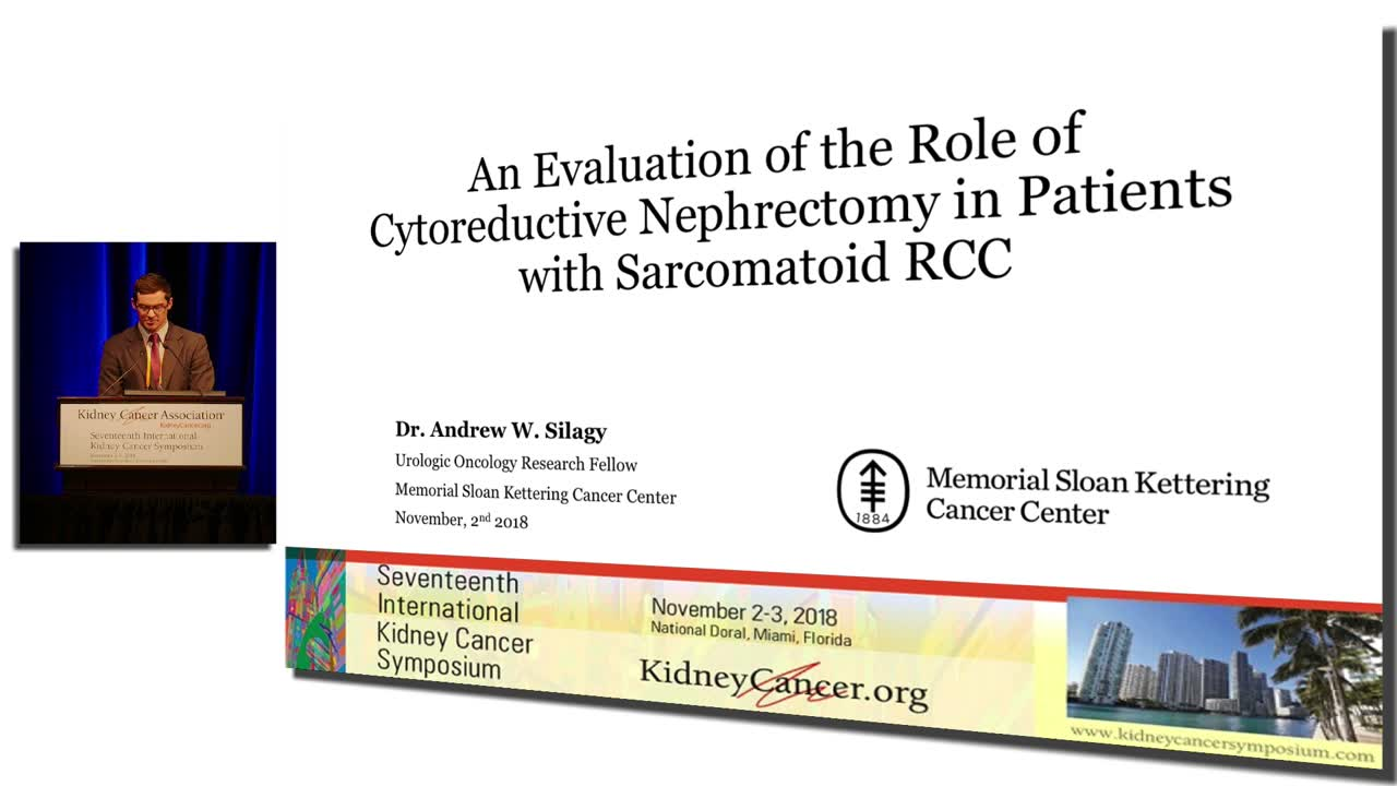 An Evaluation of the Role of Cytoreductive Nephrectomy in Patients with Sarcomatoid RCC