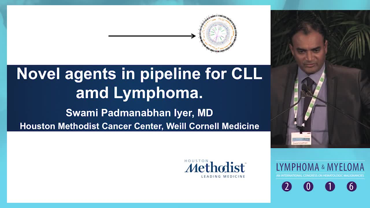 Novel agents in the pipeline for CLL & lymphoma