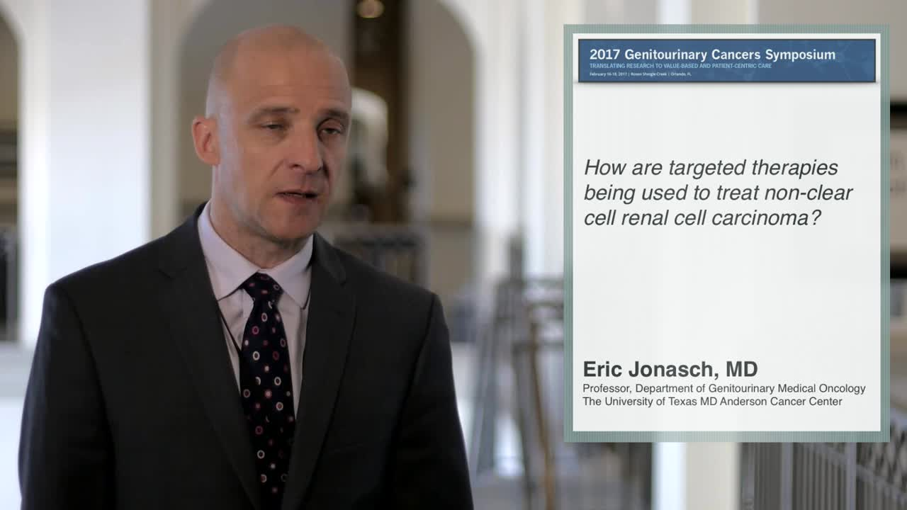 Use of Targeted Therapies in Non-Clear Cell Renal Cell Carcinoma