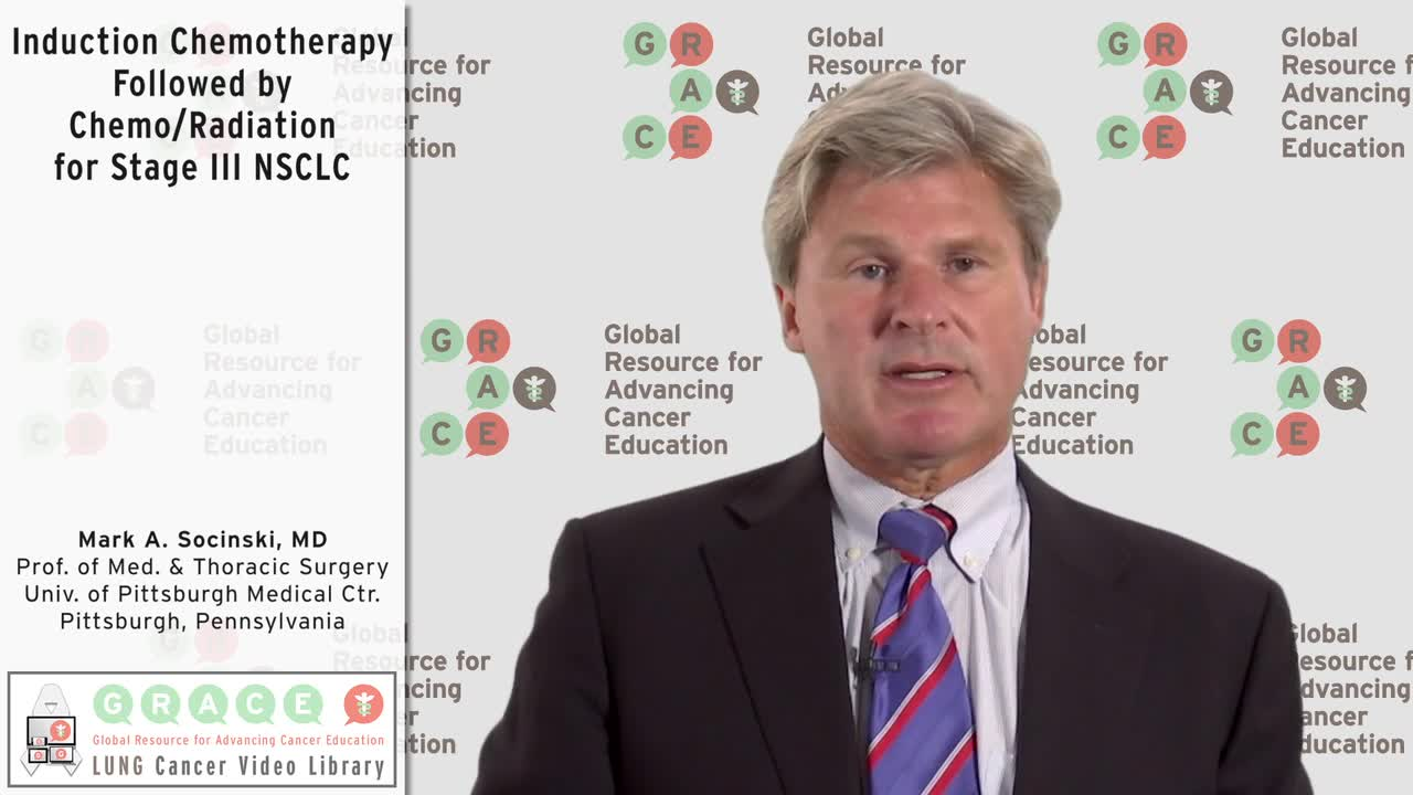 Induction Chemotherapy Followed by Chemo_Radiation for Stage III NSCLC [720p]