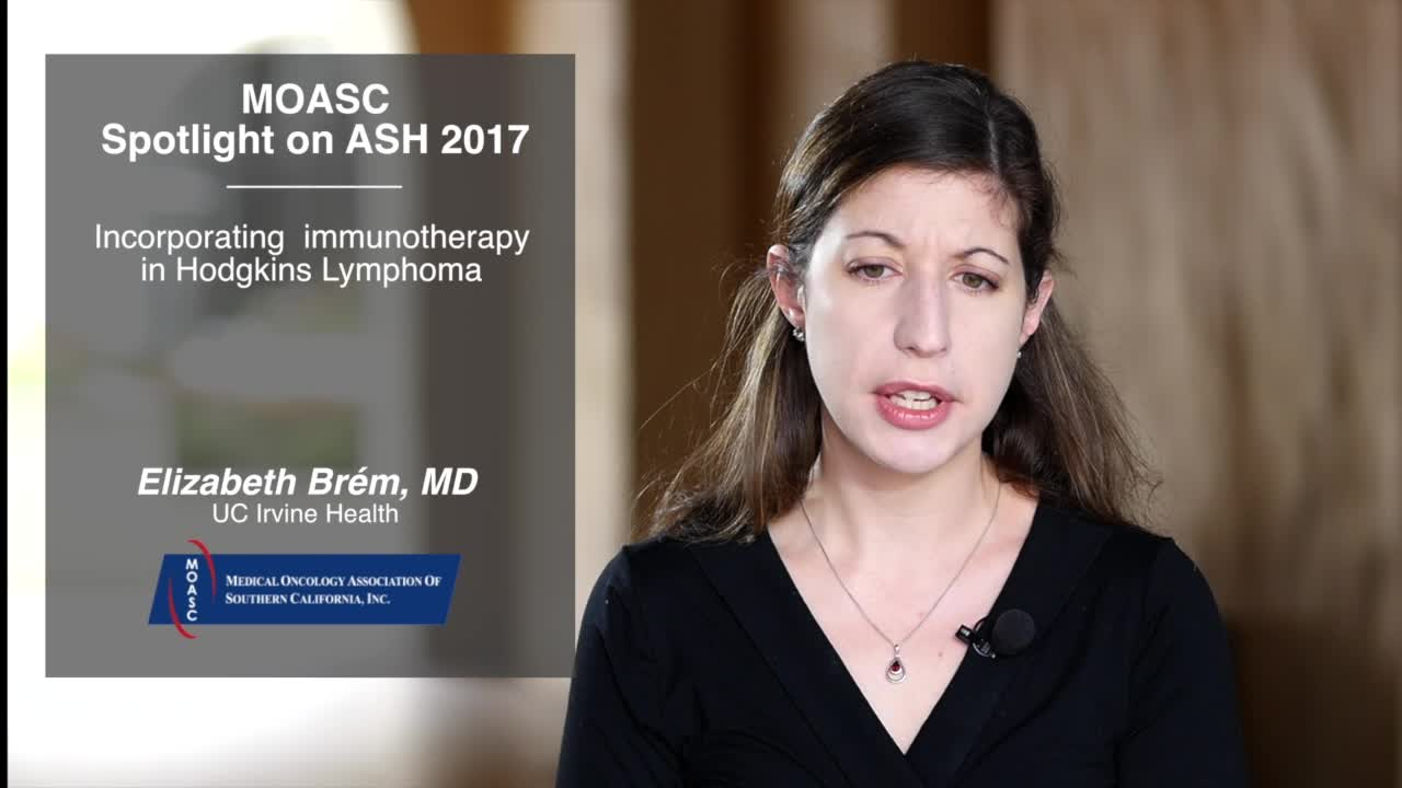 Incorporating immunotherapy in Hodgkins Lymphoma