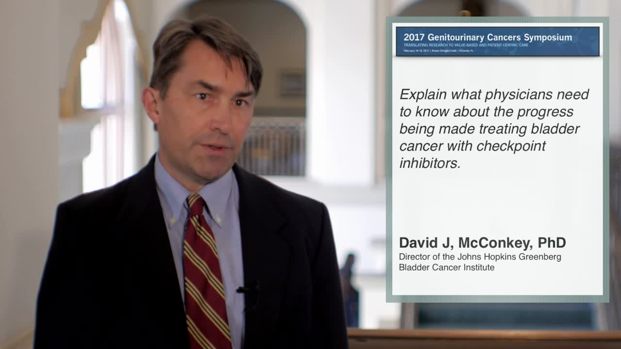 Progress with Checkpoint Inhibitors in Treating Bladder Cancer