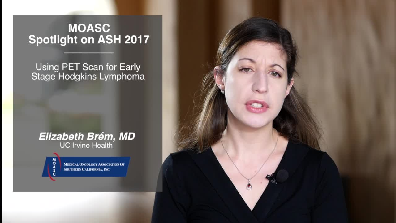 Using PET Scan for Early Stage Hodgkin Lymphoma