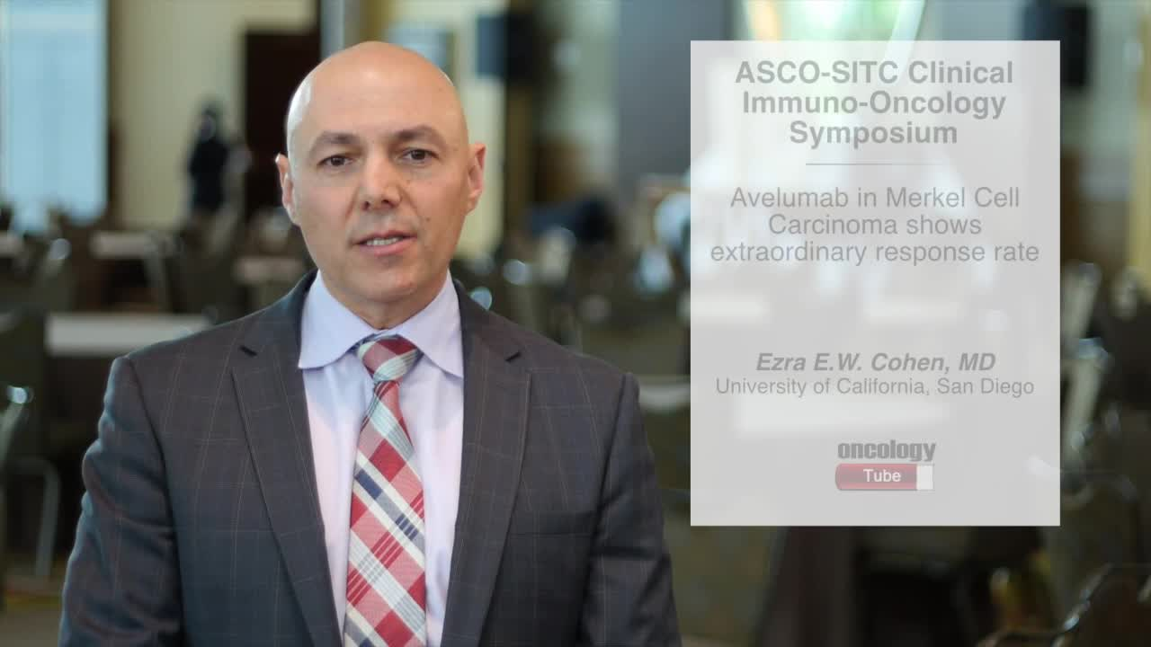 Avelumab in Merkel Cell Carcinoma Shows Extraordinary Response Rate