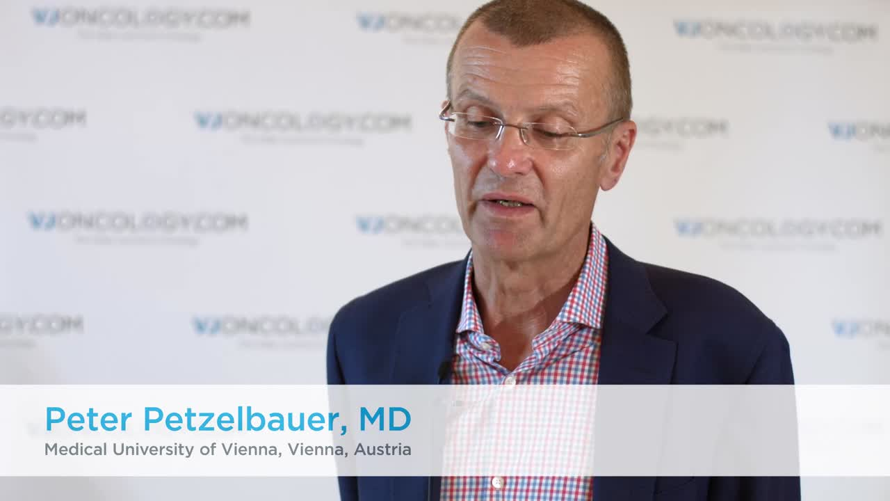 Differences in the number of clinical trials for melanoma and squamous cell carcinoma