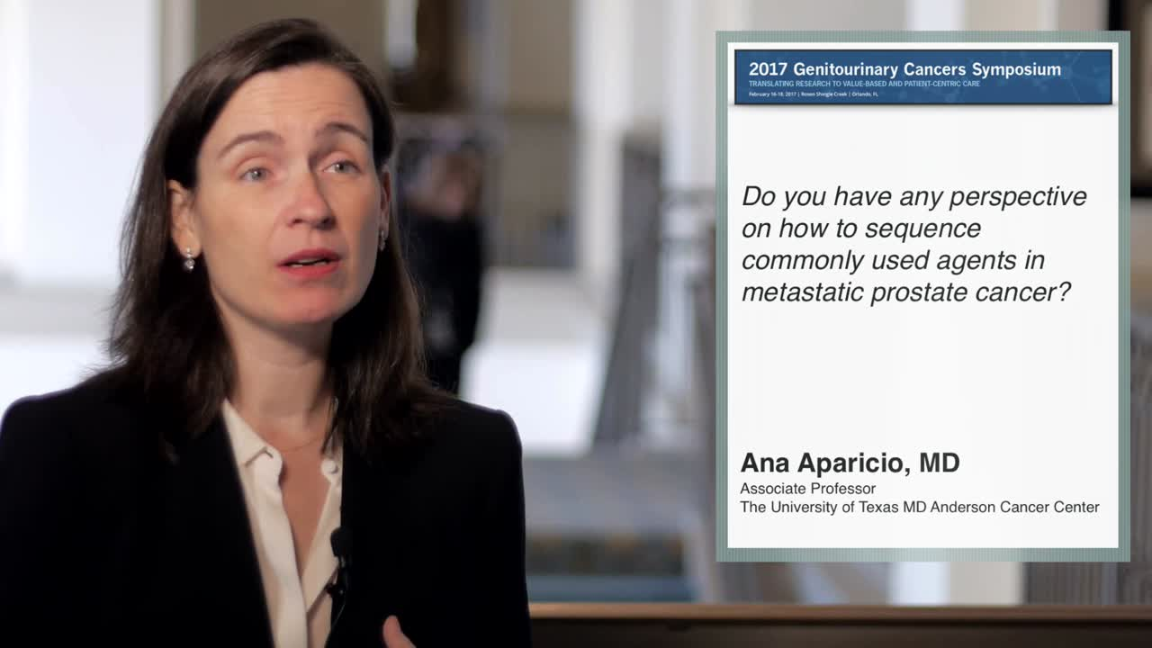 How to Sequence Commonly Used Agents in Metastatic Prostate Cancer