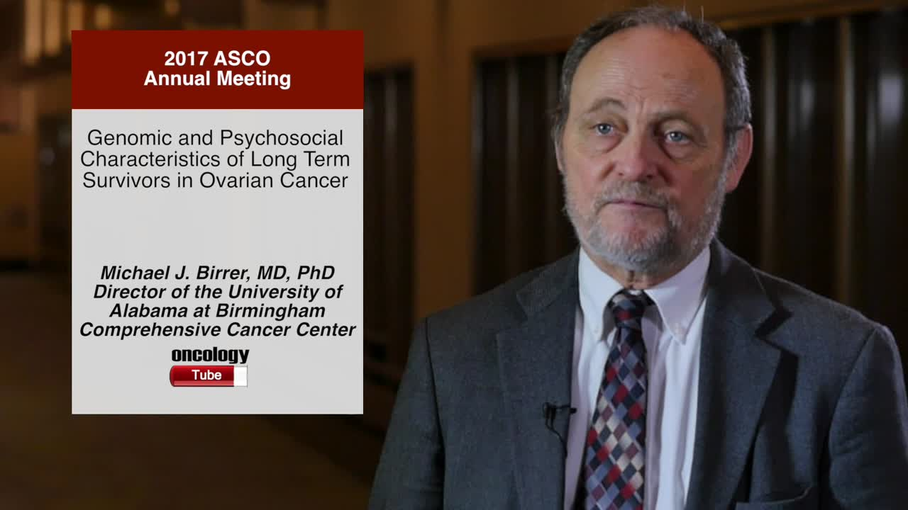 Genomic and Psychosocial Characteristics of Long Term Survivors in Ovarian Cancer