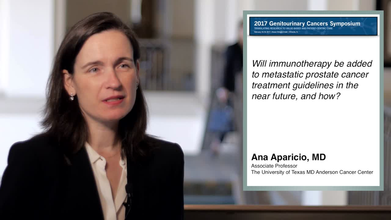 Will Immunotherapy Be Used for Metastatic Prostate Cancer Treatment in the Near Future
