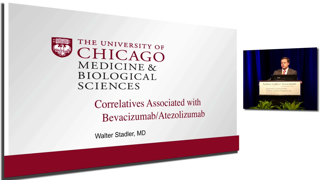 Correlatives Associated with Bevacizumab/Atezolizumab