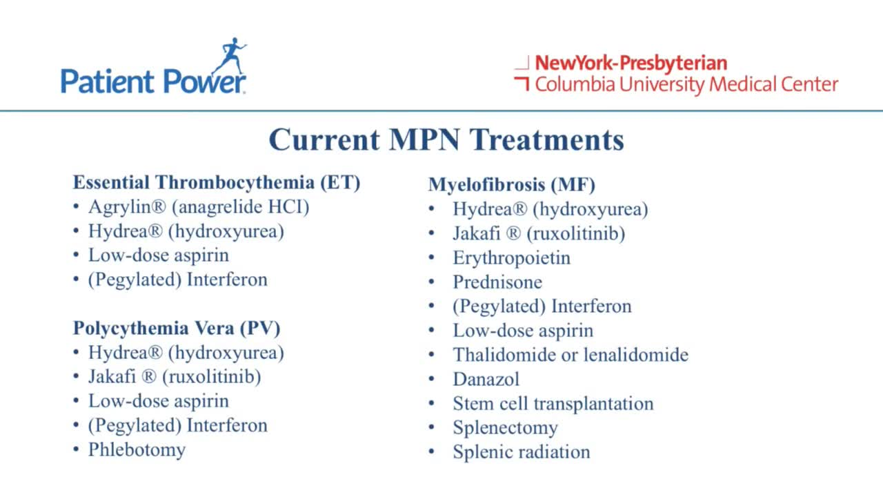 What Is the Goal of Myelofibrosis (MF) Treatment?