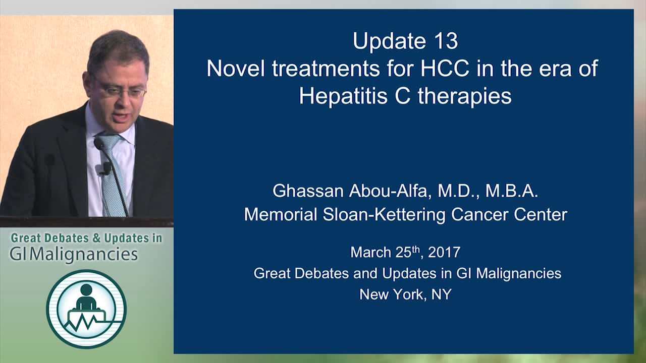 Update: Novel treatments for HCC in the era of hepatitis C therapies