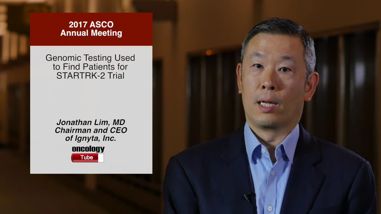 Genomic Testing Used to Find Patients for STARTRK-2 Trial