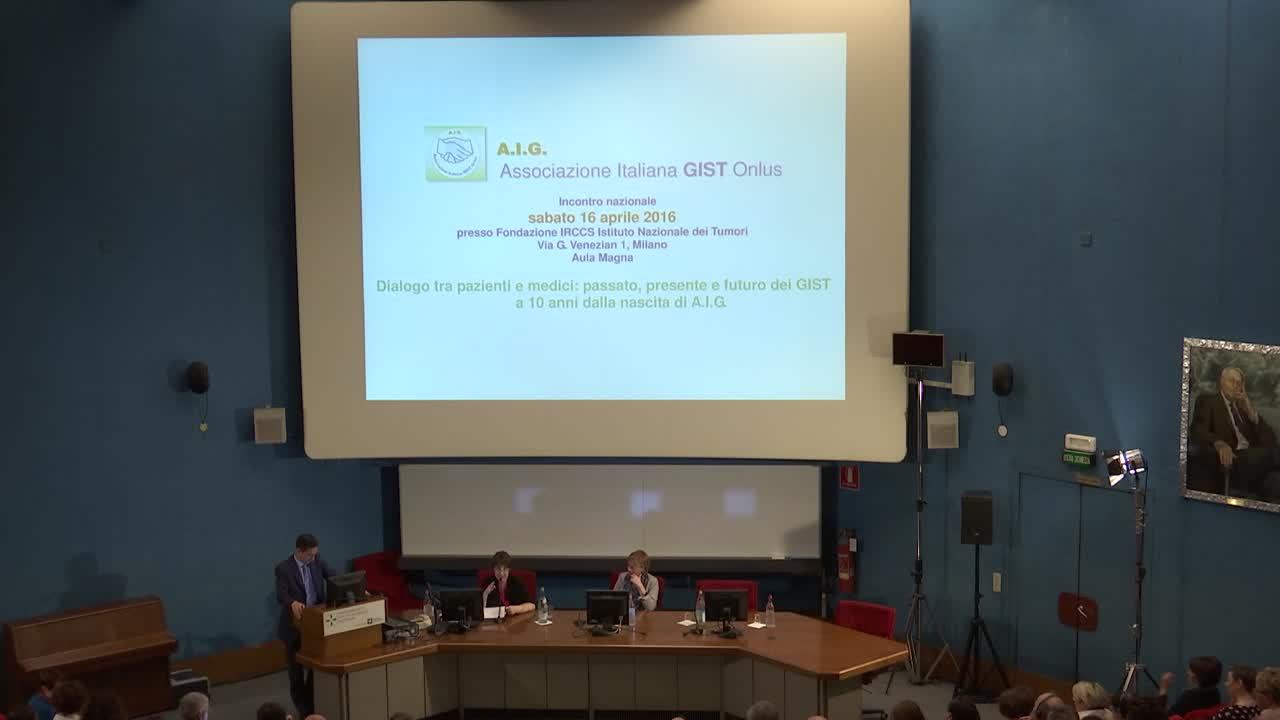 2 Gruppo multidisciplinare e multicentrico: numerosi medici esperti in GIST, provenienti da tutto il paese, rispondono alle domande raccolte tra i pazienti - 2.a parte