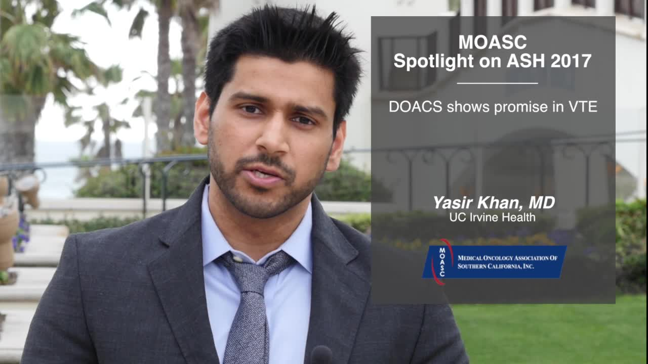 DOACS shows promise in VTE