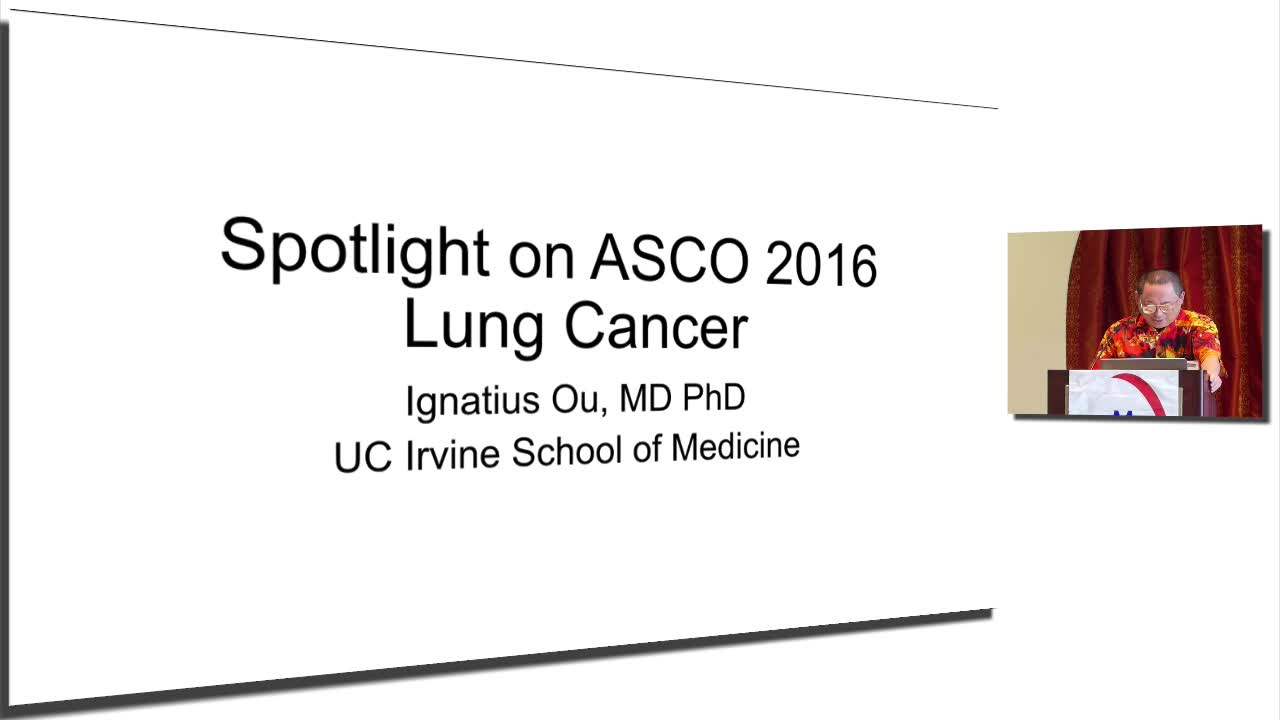 Annual Meeting 2016 Lung Cancer