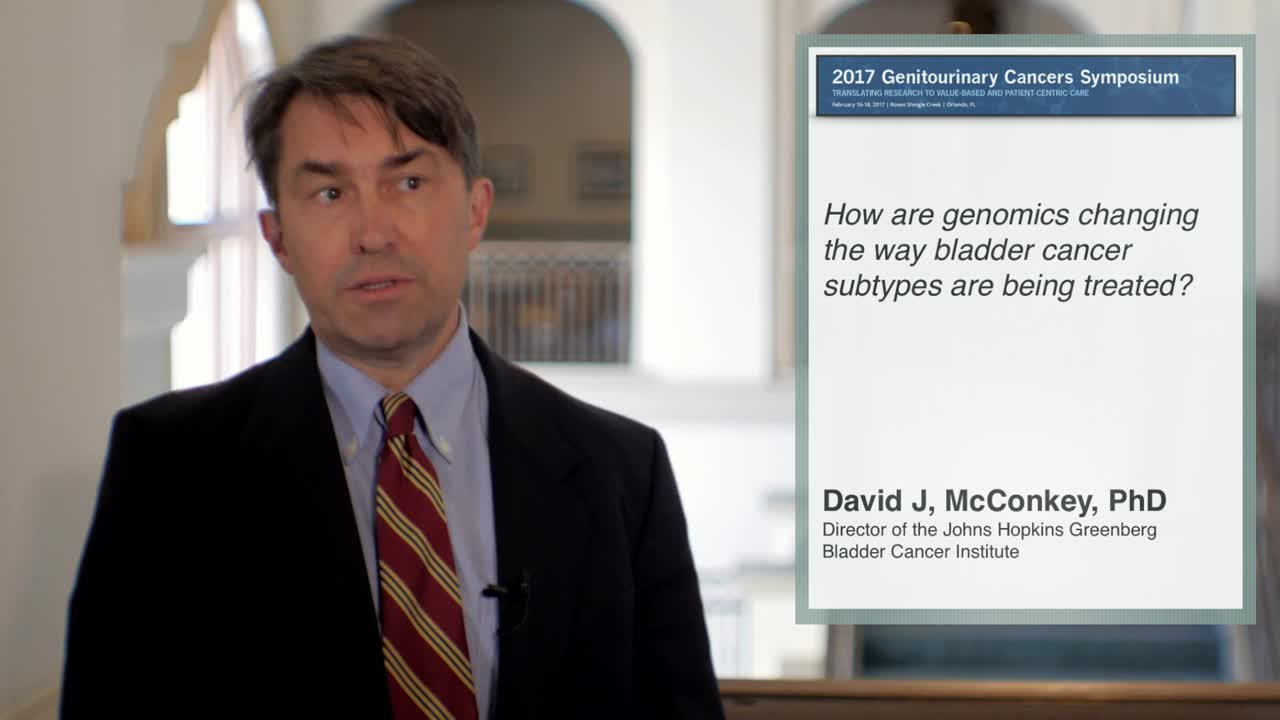 How are Genomics Changing the Way Bladder Cancer Subtypes are Being Treated