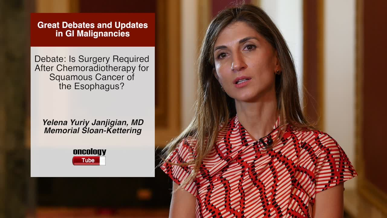 Debate: Is Surgery Required After Chemoradiotherapy for Squamous Cancer of the Esophagus?