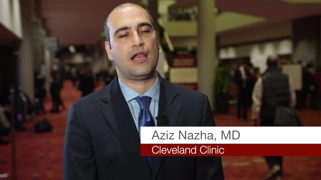 Algorithm Picks Relevant Variables Variables help predict survivability with myelodysplastic syndromes