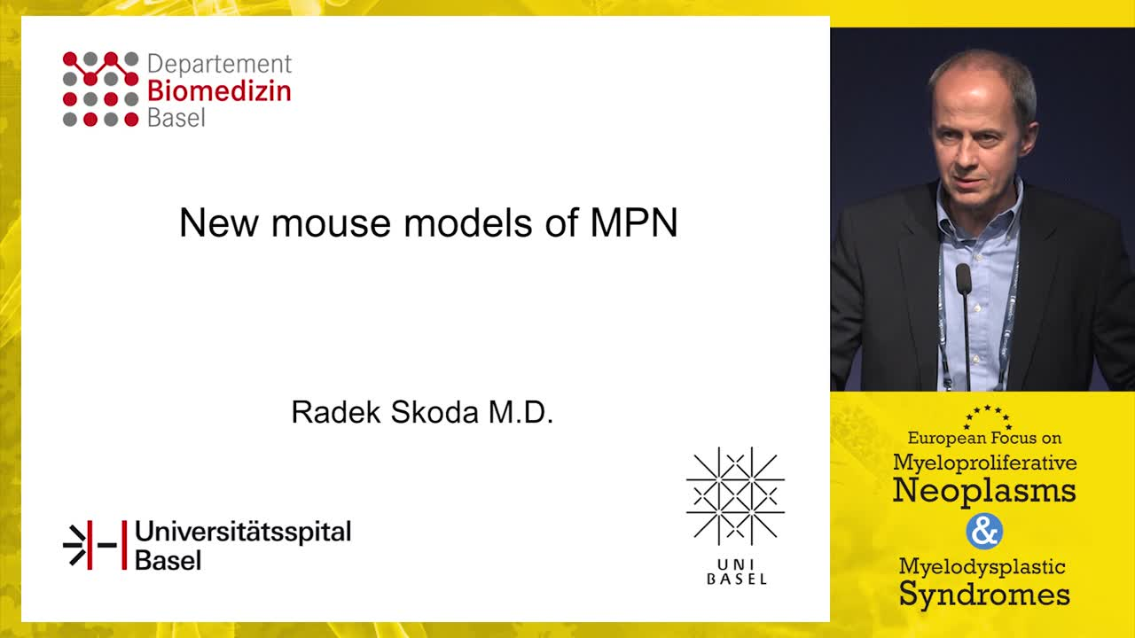 New mouse models of MPN