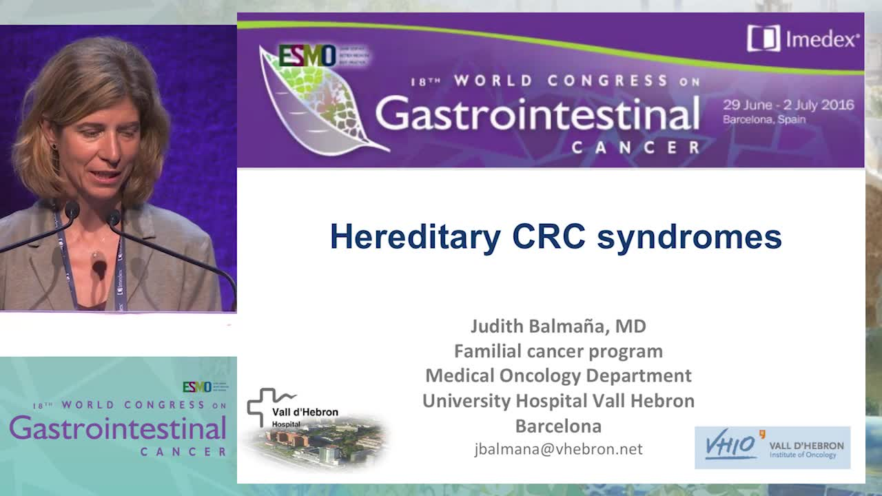 Hereditary colorectal cancer and gastric cancer