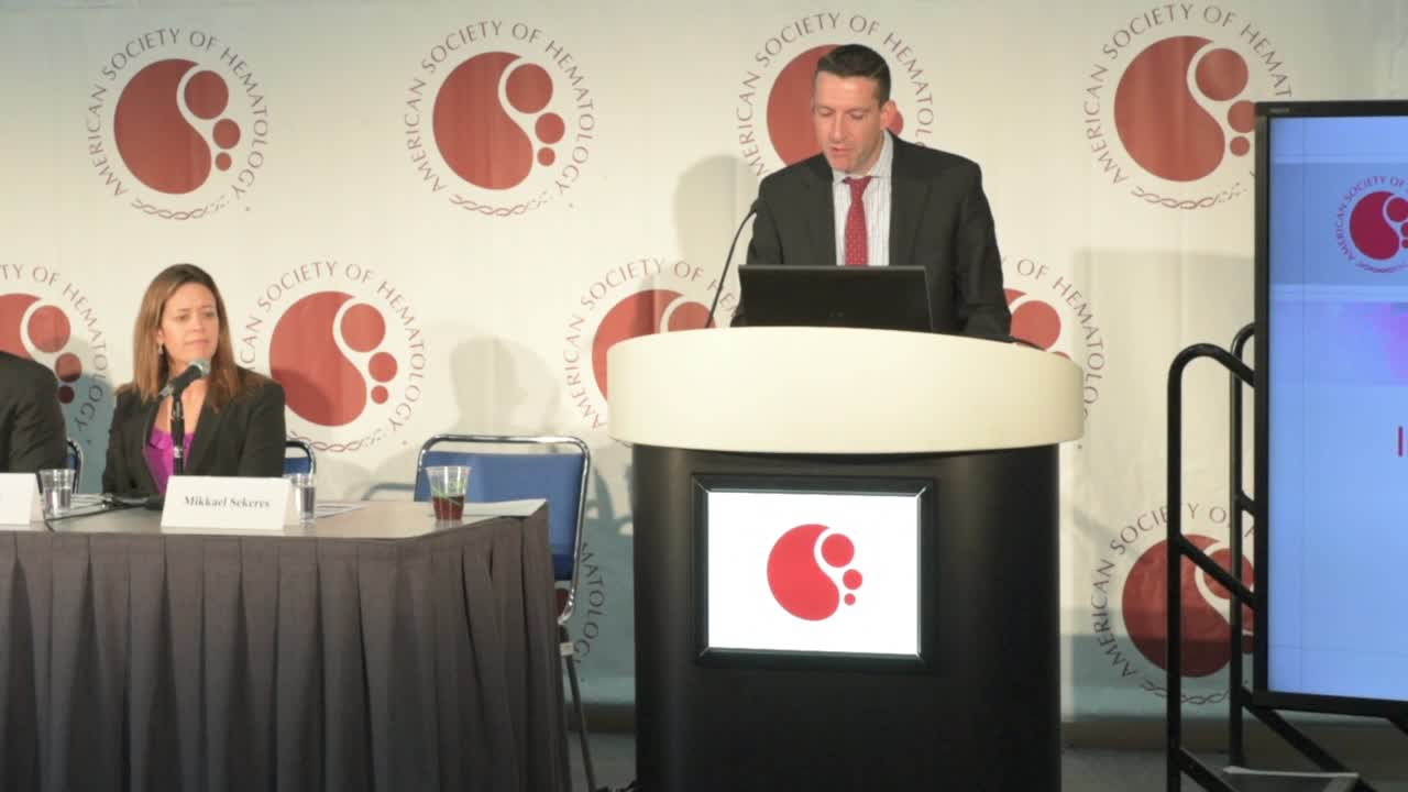 Press Briefing Introduction: Improved Outcomes in Leukemia, Trauma Settings with Personalized Medicine Approaches