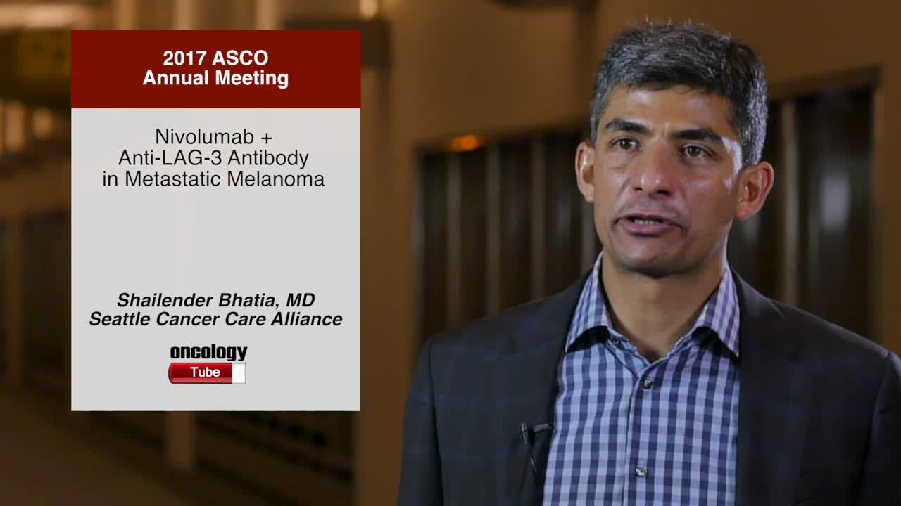 Nivolumab + Anti-LAG-3 Antibody in Metastatic Melanoma