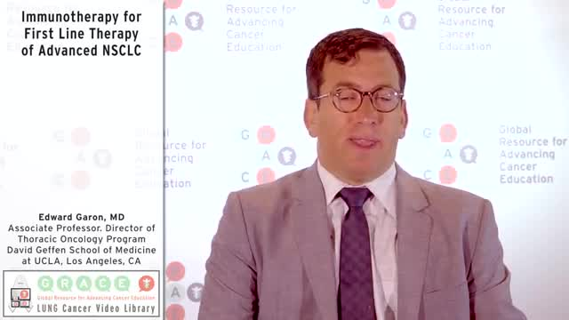 Immunotherapy for First Line Therapy of Advanced NSCLC [360p]
