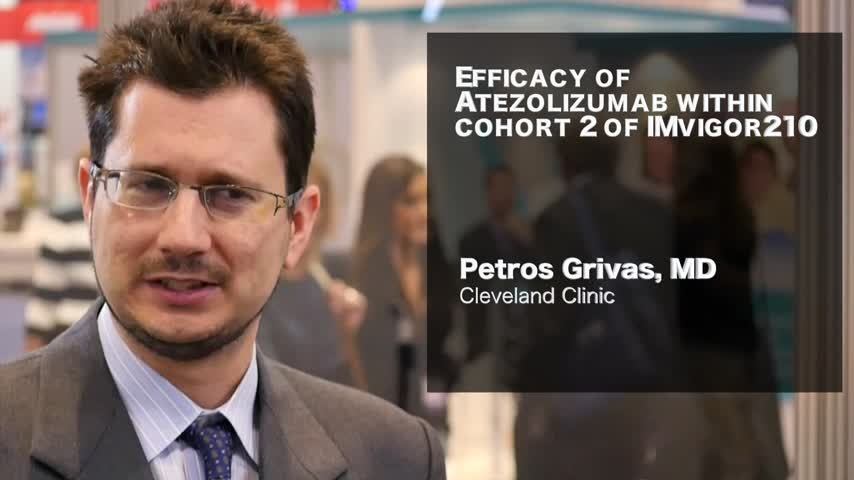Efficacy of Atezolizumab within cohort 2 of IMvigor210