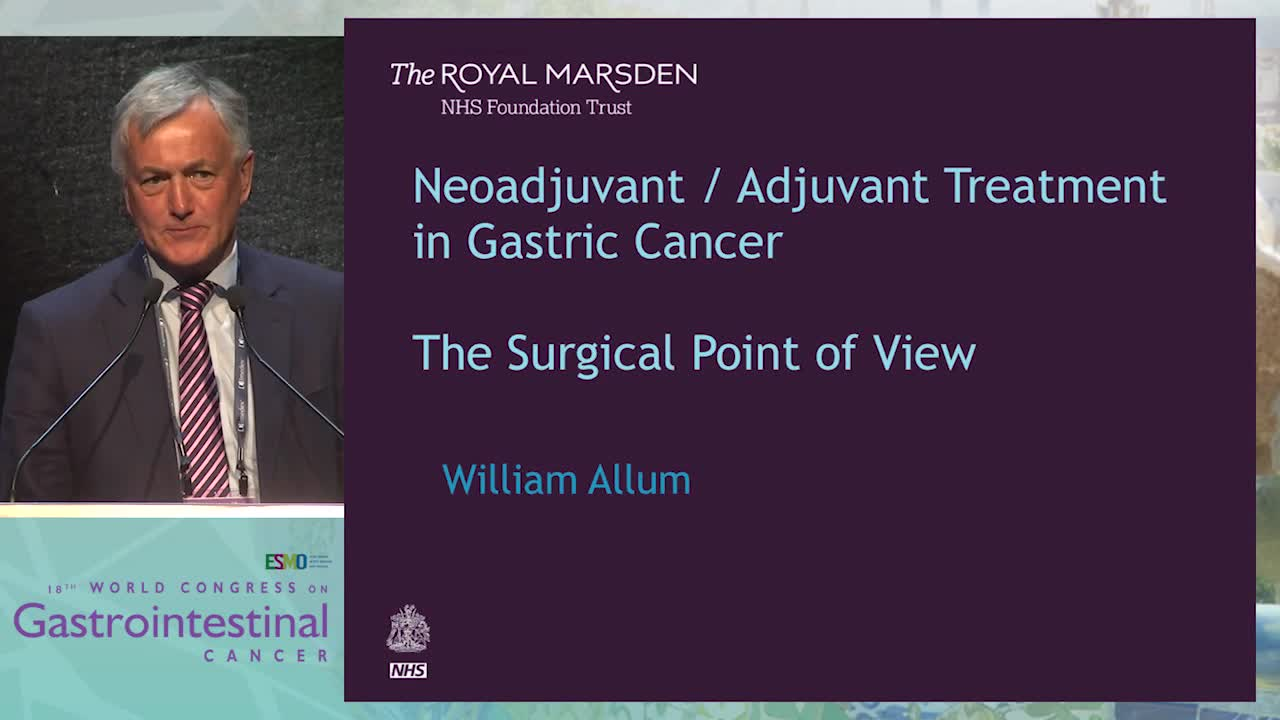 Controversy Debate 3: Neo-adjuvant/Adjuvant treatment in gastric cancer - The surgical point of view