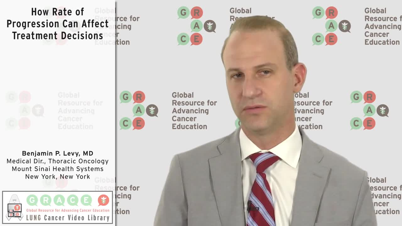 How Rate of Progression Can Affect Treatment Decisions [720p]