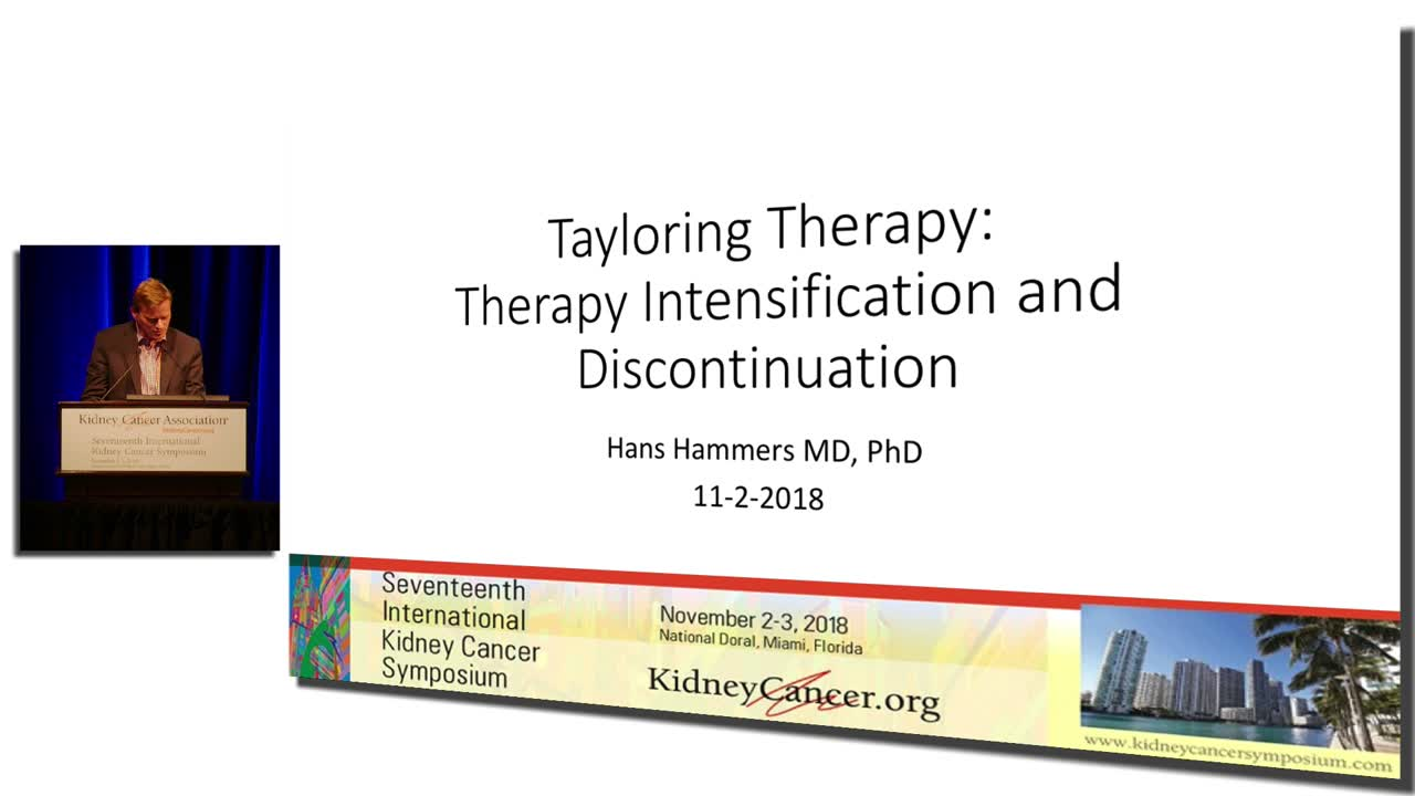 Tayloring Therapy: Therapy Intensification and Discontinuation