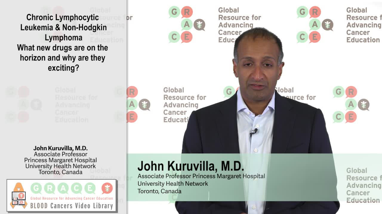 CLL and Non Hodgkin Lymphoma: What new drugs are on the horizon and why are they exciting?