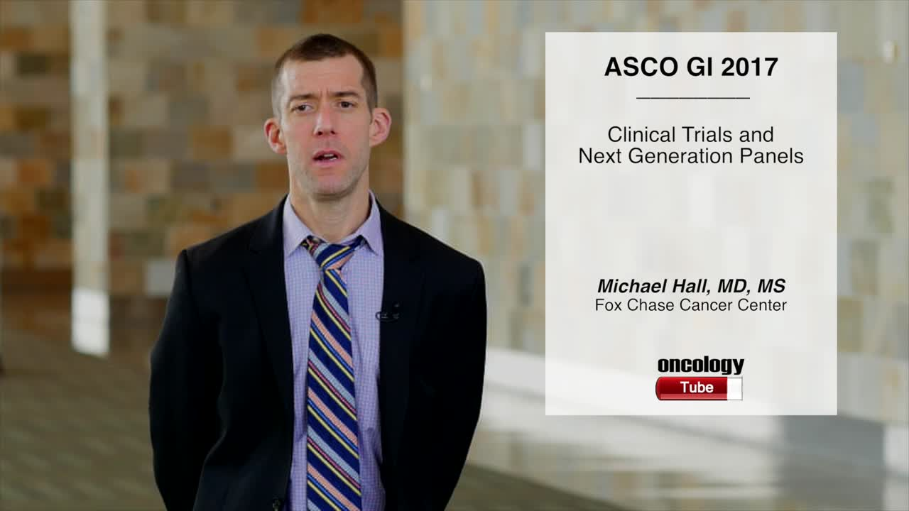 Clinical Trial and Next Generation Panels