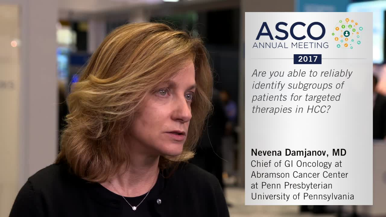 Identifying subgroups for targeted therapies in HCC