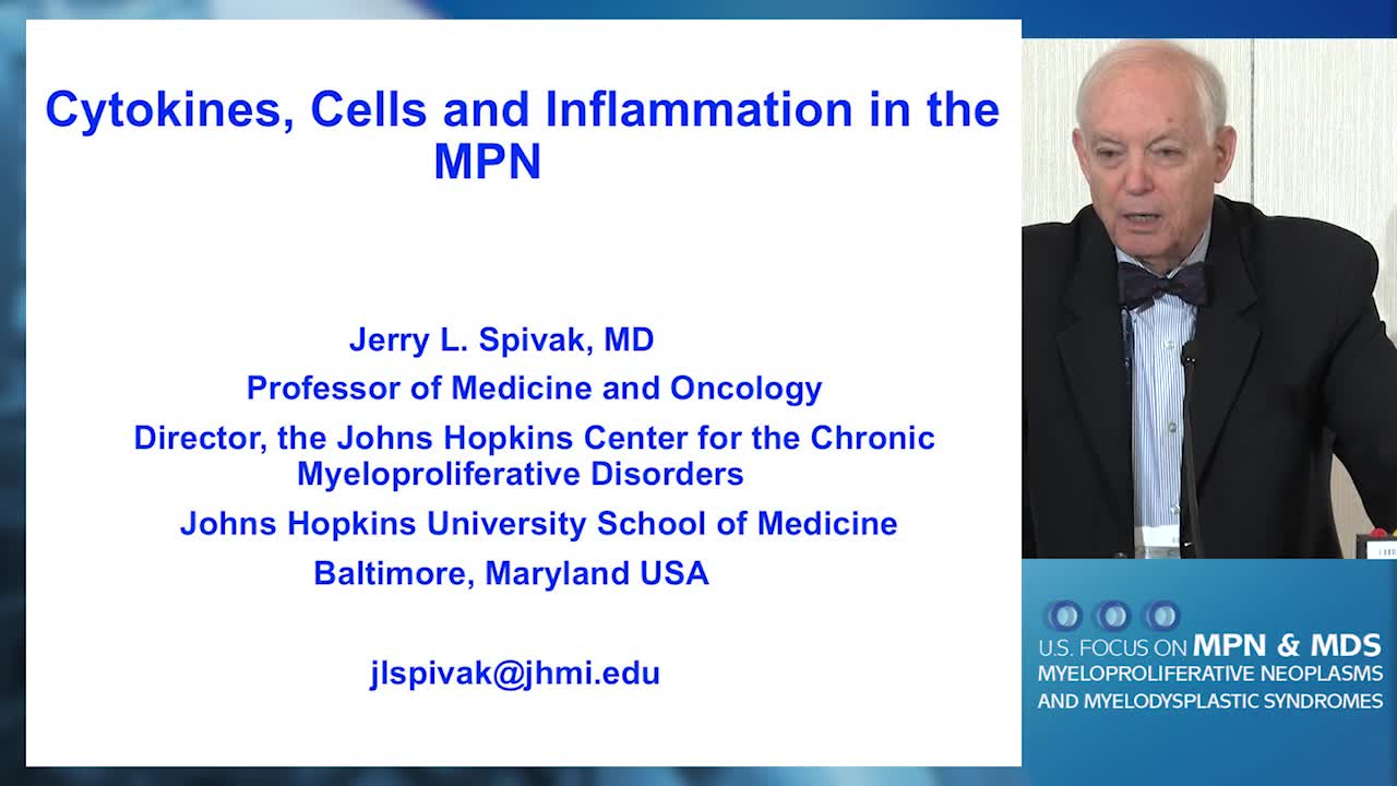 Cytokines, Cells and Inflammation in MPN