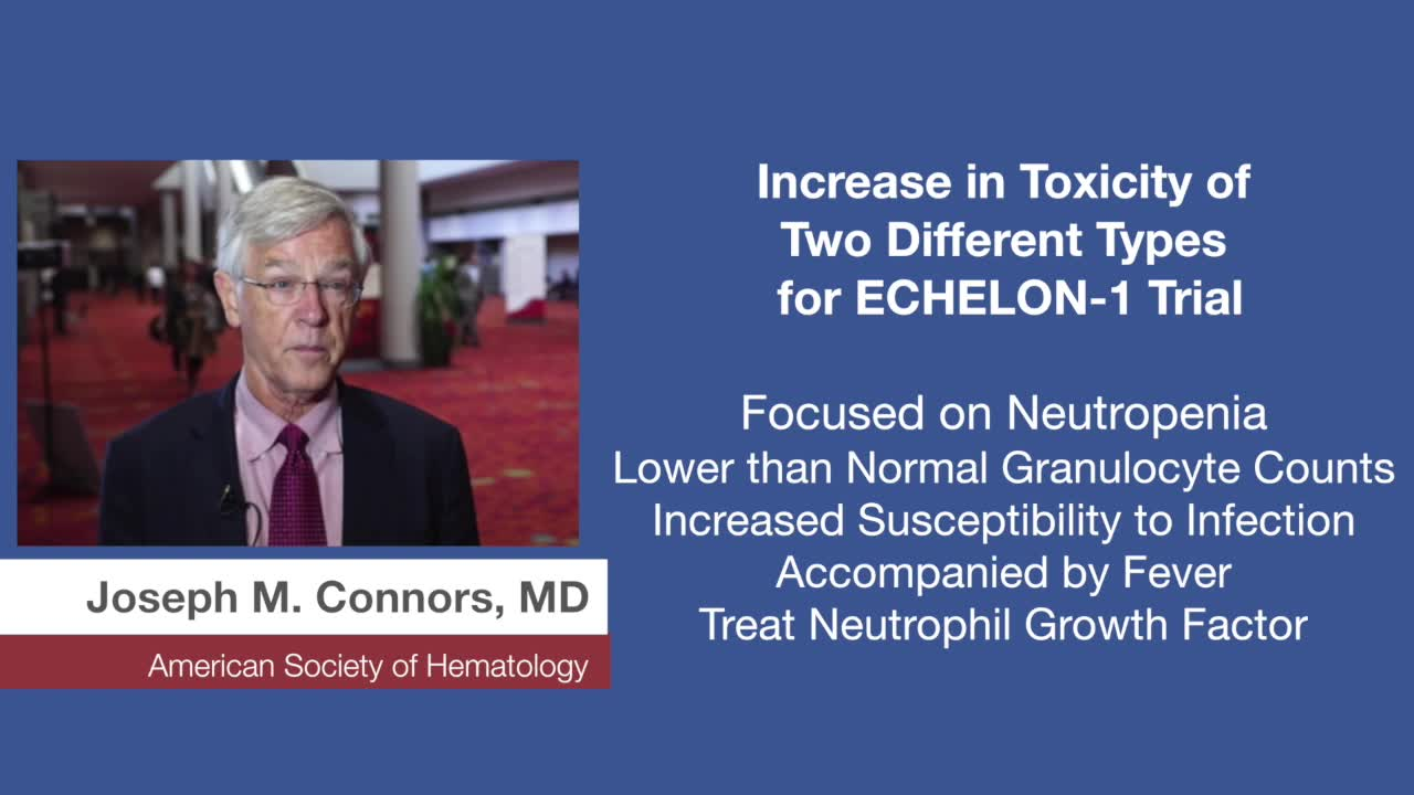 Increase in Toxicity of Two Different Types for ECHELON-1 Trial