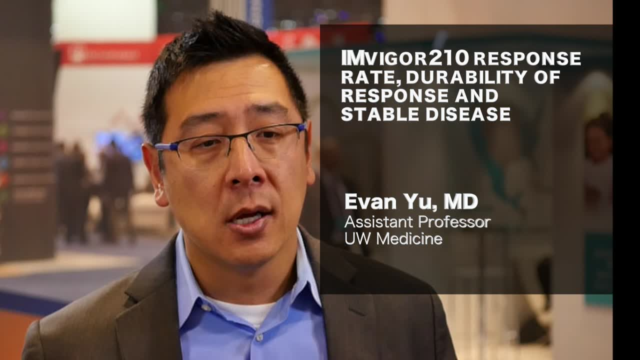 IMvigor210 response rate durability of response and stable disease