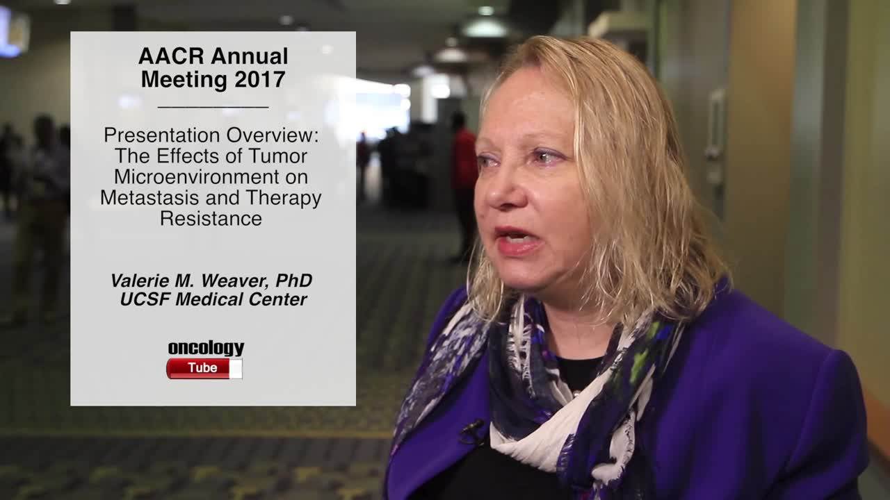 Presentation Overview: The Effects of Tumor Microenvironment on Metastasis and Therapy Resistance