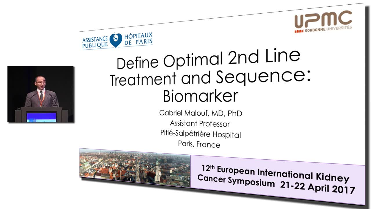 Define Optimal 2nd Line Treatment and Sequence: Biomarker