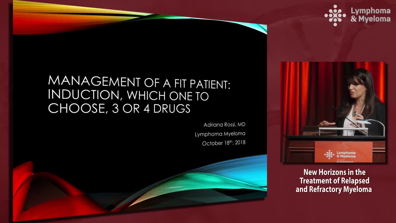 Management of a fit patient: Induction, which one to choose, 3 or 4 drugs
