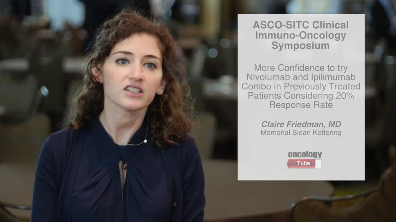 More Confidence to Try Nivolumab and Ipilimumab Combo in Previously Treated Patients
