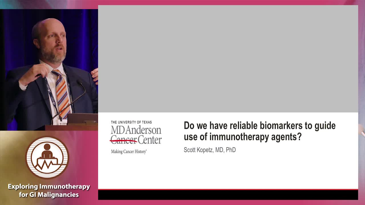 Do we have reliable biomarkers to guide use of immunotherapy agents?