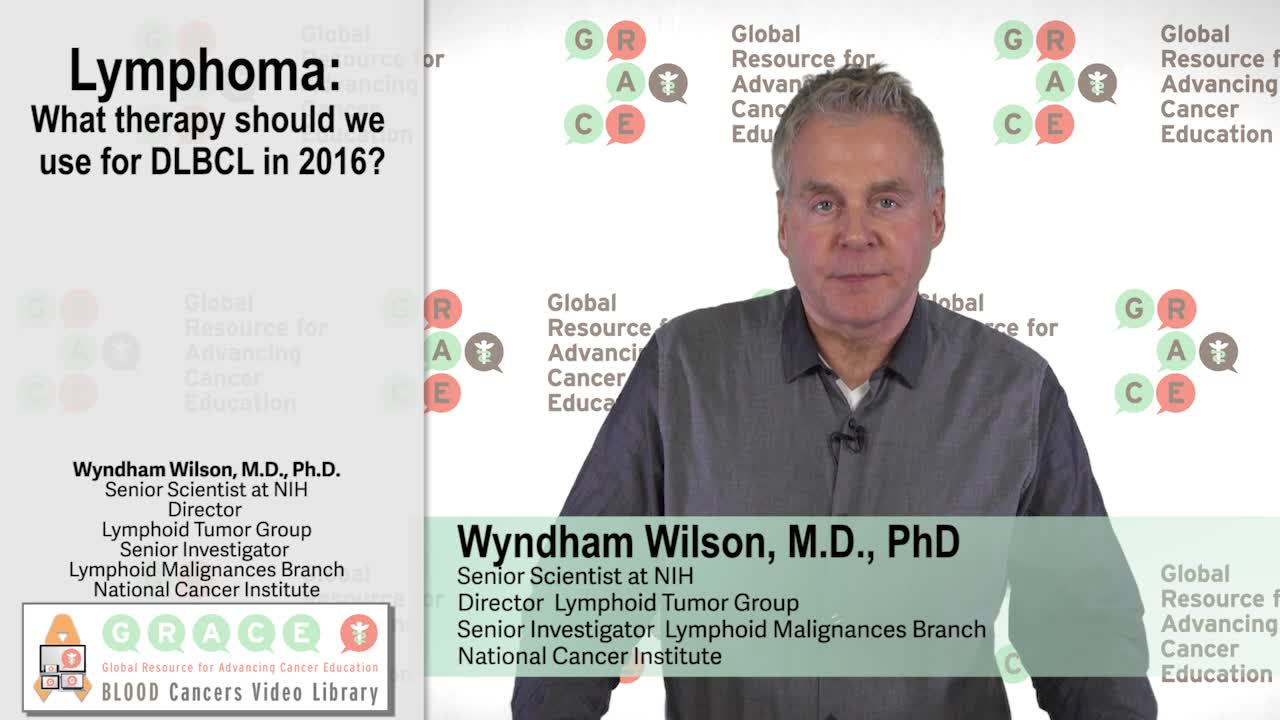 What therapy should we use for DLBCL in 2016?