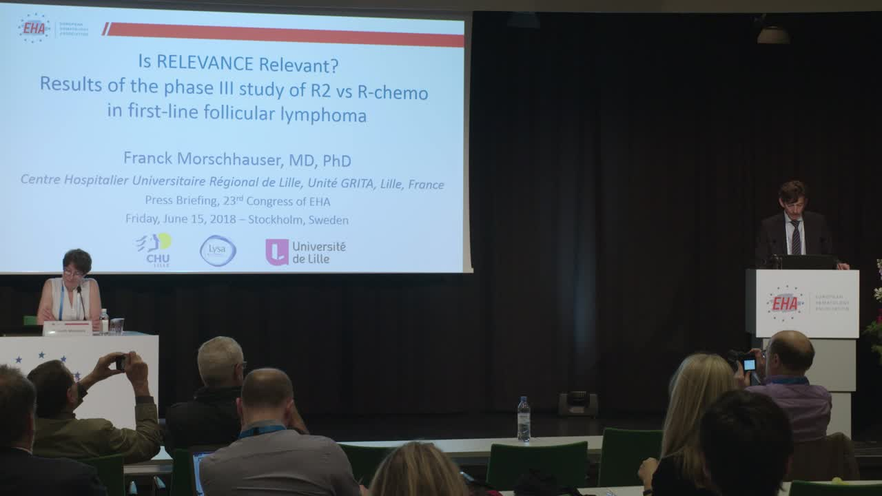 Follicular lymphoma: is RELEVANCE relevant?