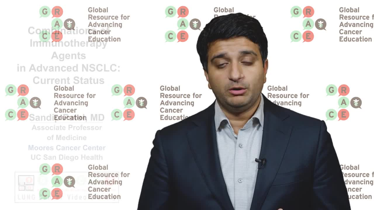 Lung Cancer Video Library - Combinations of Immunotherapy Agents in Advanced NSCLC Current Status