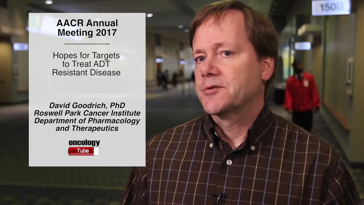 Hopes for Targets to Treat ADT Resistant Disease